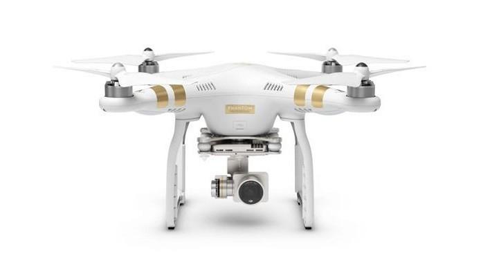 Phantom, famoso modelo de drone com câmera (Divulgação/DJI)
