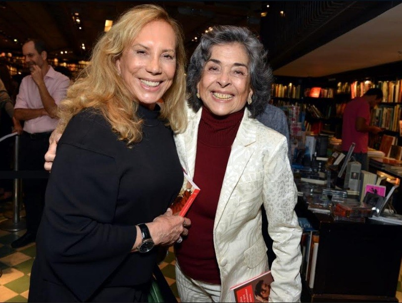 Arlete Salles e Betty Faria: amizade dentro e fora da ficção  (Foto: Cristina Granato)