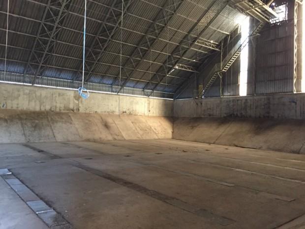 Terminal portuário de Porto Murtinho tem capacidade para escoar até 300 mil toneladas de produtos por ano (Foto: Divulgação/Semade)