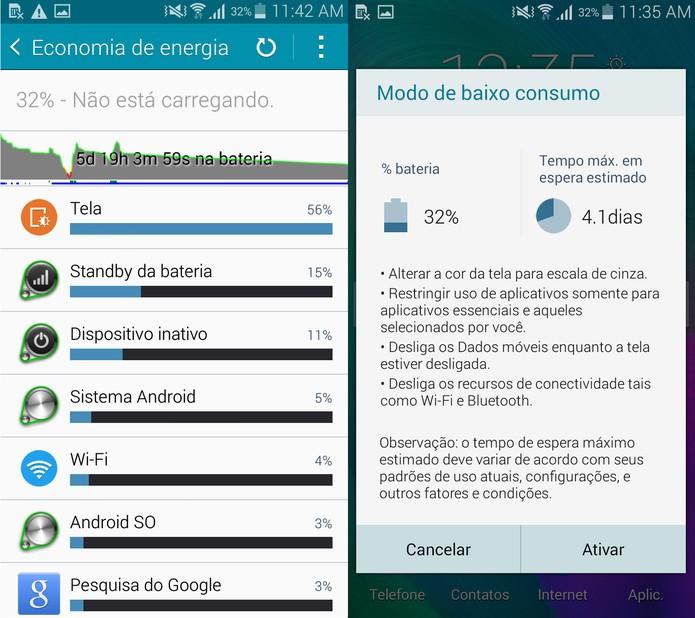 Bateria Galaxy A5 (Foto: Reprodução)