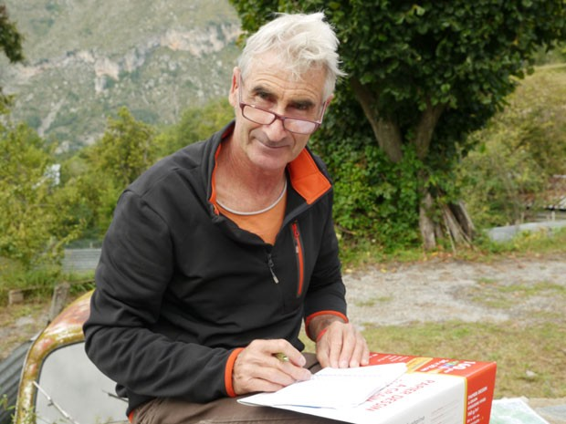 Foto sem data do francês Herve Gourdel, que foi sequestrado e decapitado na Argélia (Foto: AFP)