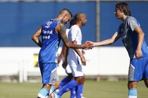 Grêmio x Aimoré jogo-treino CT Luiz Carvalho Luan Geromel (Foto: Lucas Uebel/Grêmio/Divulgação)