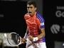 """Estreante no US Open, Monteiro teve """"empurrão"""" de Guga para virar tenista"""