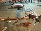 Motorista é preso após atropelar ciclista, fugir e causar outro acidente