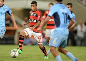 Leo, Flamengo x Bolivar (Foto: Alexandre Vidal/Fla Imagem)