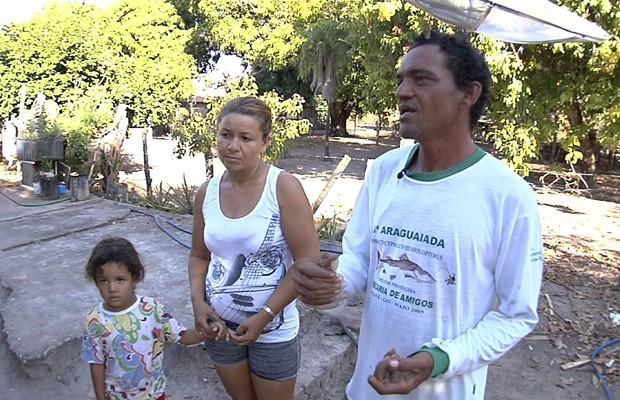 Ribeirinhos mantém uma relação próxima com a natureza exuberante (Foto: Reprodução/TV Anhanguera)