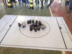Mostra de Robótica em Porto Velho (Foto: Karla Cabral/G1)