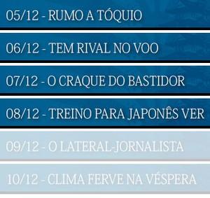 MENU_30anos_MUNDIAL-Gremio_04 (Foto: Infoesporte)
