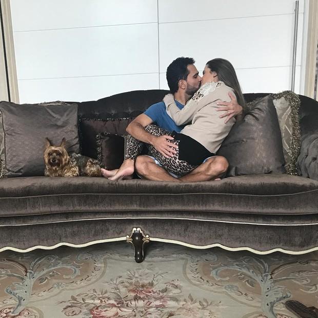 Luciano e Flavia Camargo (Foto: Reprodução / Instagram)