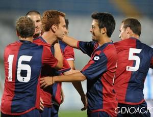 Zé Love Zé Eduardo marca um gol pelo Genoa (Foto: Site oficial do Genoa)