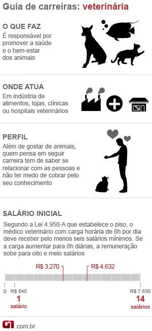 guia veterinária (Foto: Arte/G1)