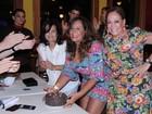 Susana Vieira comemora aniversário da irmã no Rio