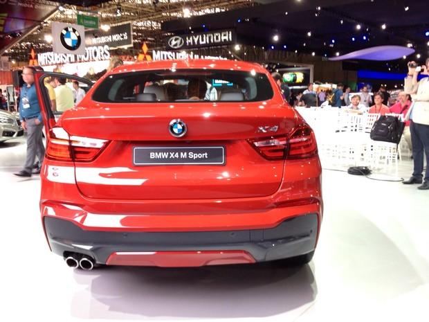 BMW X4 (Foto: Peter Fussy/G1)
