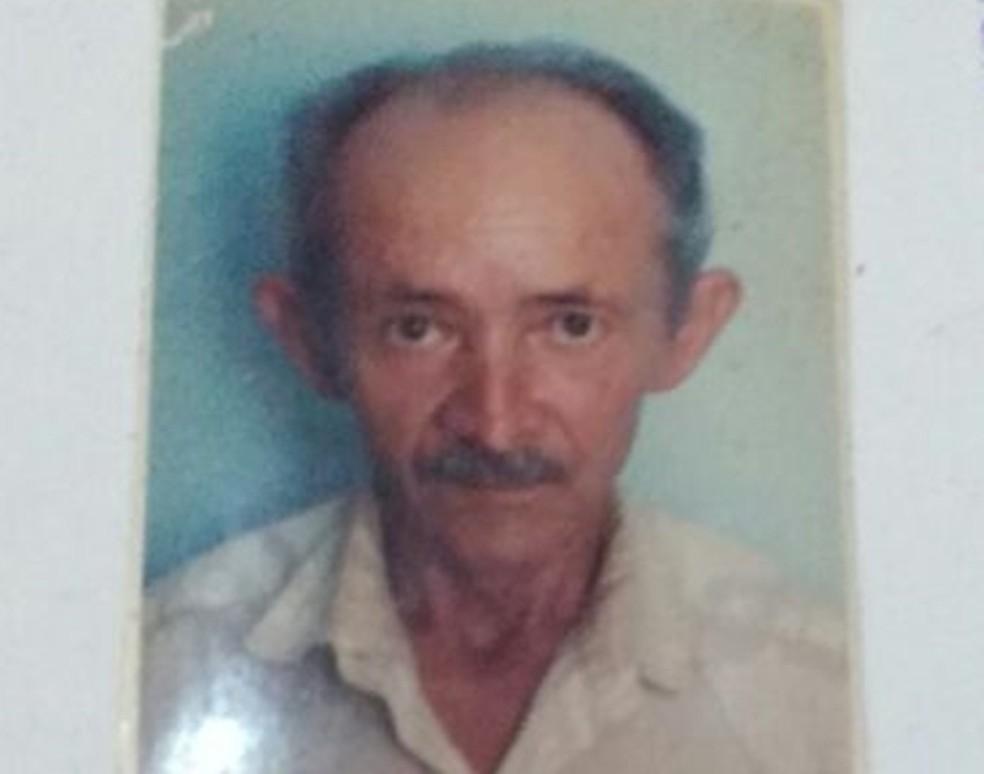 José Soares teria sido morto pelo próprio filho, de acordo com a polícia. (Foto: Divulgação / PM)
