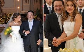 Personagem de Nívea Stelmann adota ideia moderna e se casa com dois vestidos