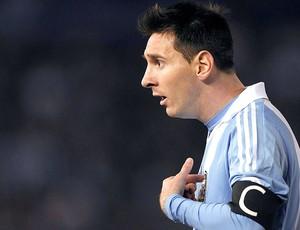 Messi jogo Argentina contra Colômbia (Foto: Reuters)