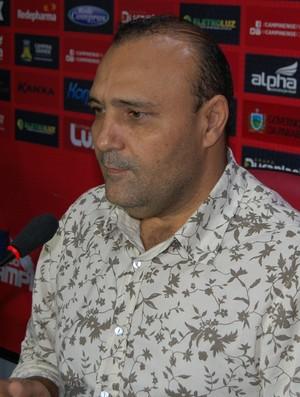 William Simões, presidente do Campinense (Foto: Silas Batista / GloboEsporte.com)