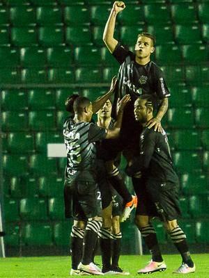 Rafael Moura; Figueirense x Flamengo (Foto: Estadão Conteúdo)