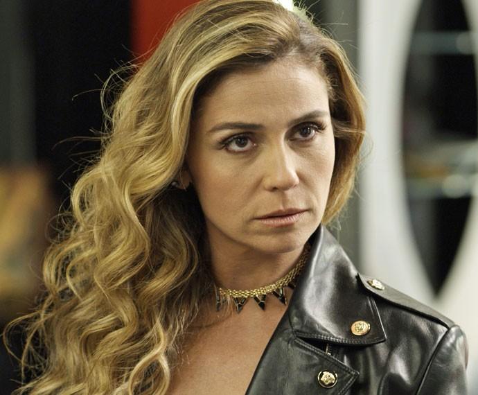 Atena avisa que entrou para a facção (Foto: TV Globo)