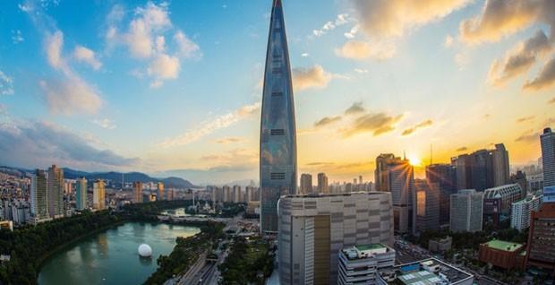 Torre na Coréia tem deck de observação mais alto do mundo (Foto: Reprodução)