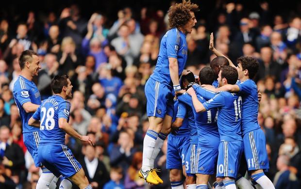 Frank Lampard chelsea gol swansea (Foto: Agência Getty Images)