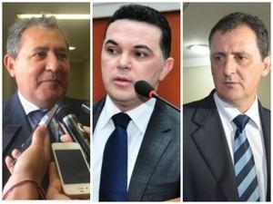 Deputados Chico Guerra, Jalser Renier, Coronel Chagas lideram gastos (Foto: G1 RR)