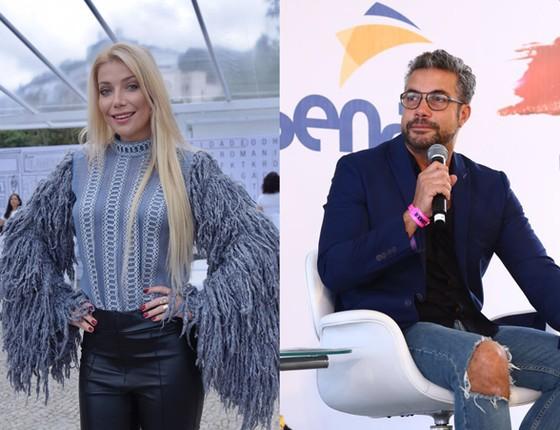 A cantora Luiza Possi e o maquiador Fernando Torquatto também passaram por lá (Foto: Felipe Panfili / Divulgação )