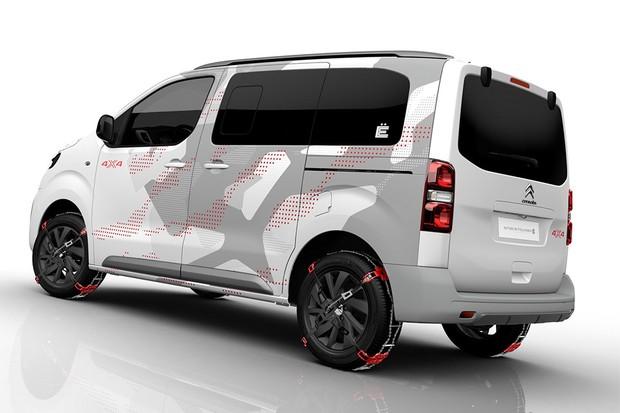 citro n cria minivan 4x4 para enfrentar a neve auto esporte not cias. Black Bedroom Furniture Sets. Home Design Ideas