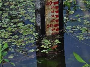 Reservatório de General Sampaio recebeu boa recarga de água com últimas chuvas (Foto: Antônio Carlos/Arquivo Pessoal)
