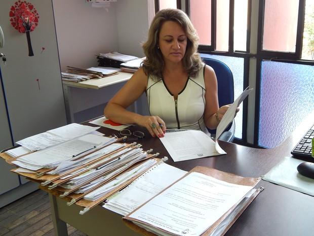 Virgínia Macedo, diretora jurídica da Semusa (Foto: Rodrigo Dias/PMD)