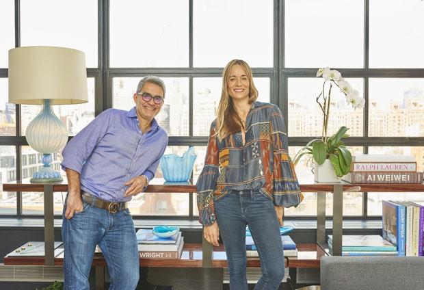 Felipe Diniz e Juliana Overmeer criam o escritório Diniz Overmeer em Nova York (Foto: Adrian Mesko)