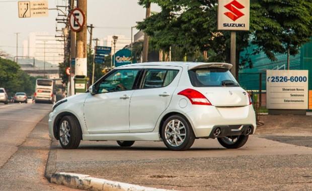 Suzuki Swift Sport (Foto: Marcos Gabriel)