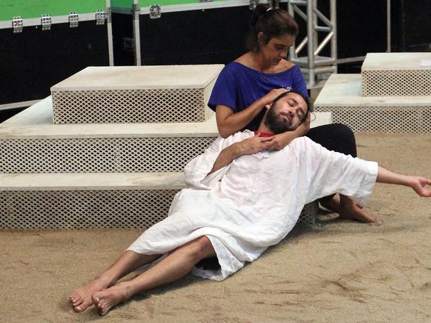 Encenação da Paixão de Cristo em Macaé (Foto: Juranir Badaró/Secom Macaé)