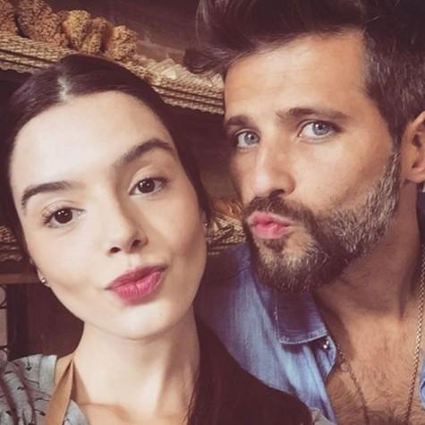 Giovanna Lancellotti e Bruno Gagliasso (Foto: Reprodução)
