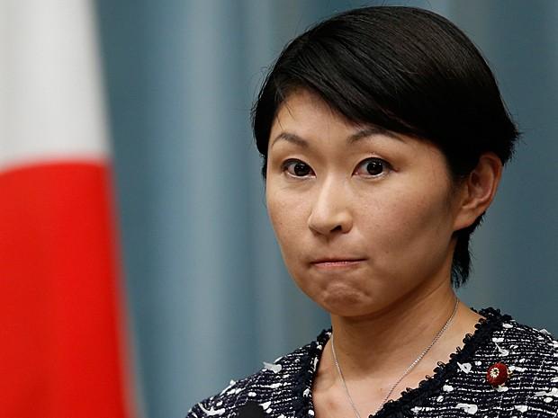 Yuko Obuchi, que colocou o cargo à disposição após denúncias de corrupção (Foto: Yuya Shino/Reuters)