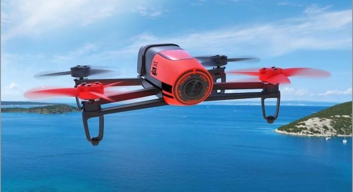 Bebop é opção profissional cheia de recursos e com câmera Full HD (Foto: Divulgação/Parrot)