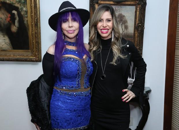 Baby do Brasil e a filha Nana Shara (Foto: Roberto Filho/Brazil News)