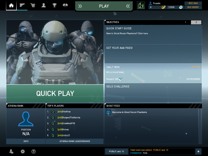 Ghost-recon-phantoms-Menu (Foto: Ghost-recon-phantoms-Menu)