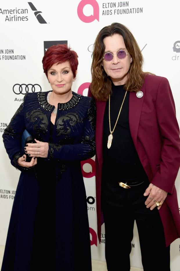 Sharon e Ozzy Osbourne (Foto: AFP)