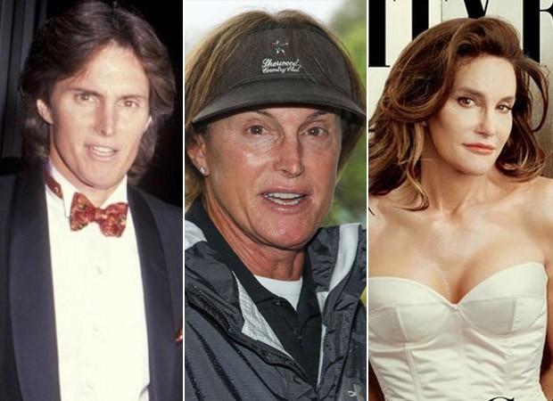 Bruce Jenner - Antes e Depois (Foto: Agência Getty Images - Instagram / Reprodução - Reprodução / Vanity Fair )
