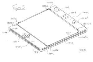 Protótipo do EyePad, possível tablet da Sony para o PS4 (Foto: Divulgação)
