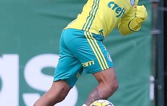 Provável titular, Dudu se anima com chance de ataque leve no Palmeiras