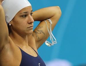 joanna maranhão natação treino londres 2012 (Foto: Satiro Sodré / Agif)
