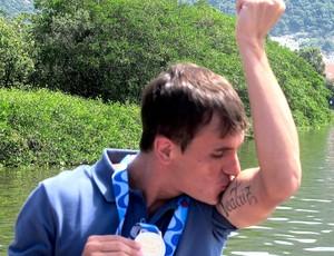 Lucas botafogo campeão taça guanabara 2013 (Foto: Thales Soares)