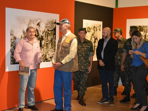 Ministro Aldo Rebelo visitou Memorial Marechal Rondon em Porto Velho (Foto: Toni Francis/G1)