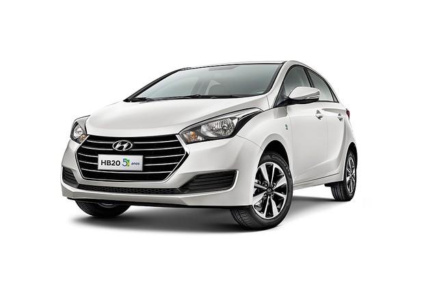 Hyundai HB20 edição de cinco anos (Foto: Divulgação)