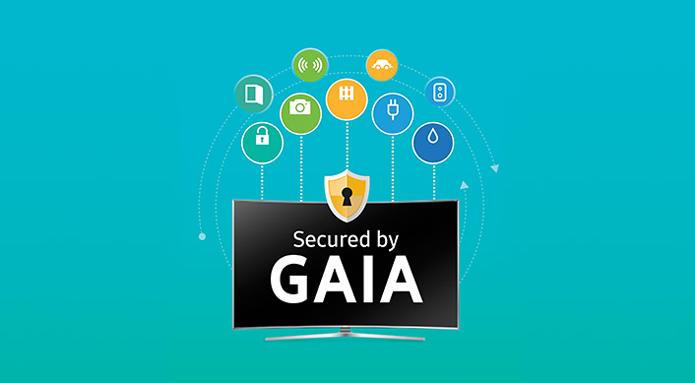 Gaia é a plataforma de segurança criada pela Samsung para funcionar no Tizen OS (Foto: Divulgação/Samsung)
