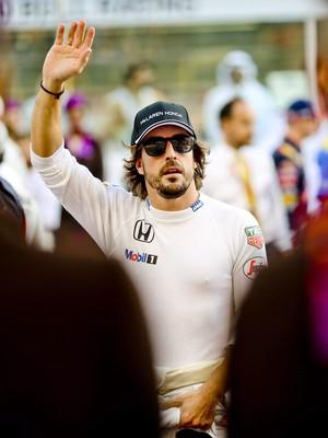 Fernando Alonso no GP de Abu Dhabi (Foto: EFE)
