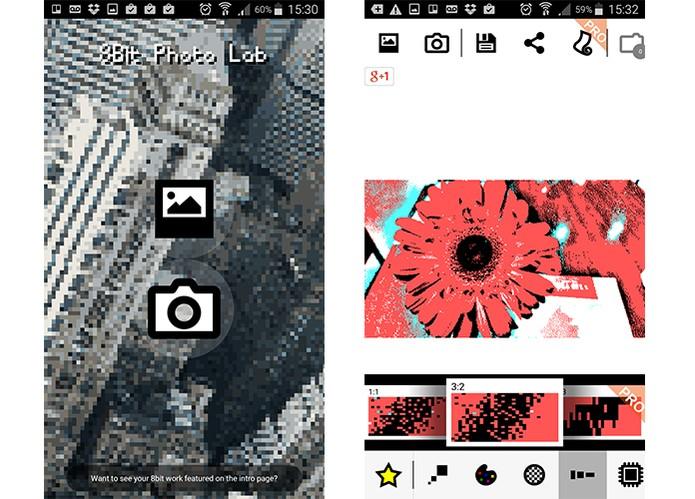 8Bit Photo Lab está disponível para Android e permite aplicar Pixel Art em fotos (Foto: Reprodução/Barbara Mannara)