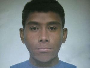 Reatrato falado do suspeito de matar prefeito de Elias Fausto  (Foto: Divulgação/Polícia Civil)